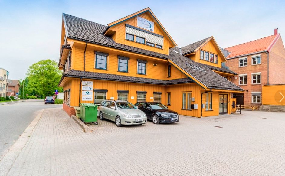 Huset hvor SMISO Telemark har kontor